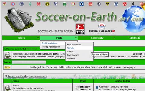 Soccer-on-Earth Forum