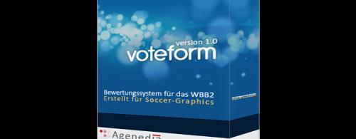 voteform für Soccer-Graphics