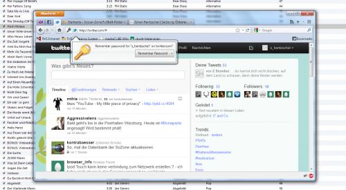 Firefox Design-Änderungen