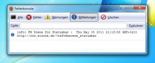 FM Scene for Statusbar
