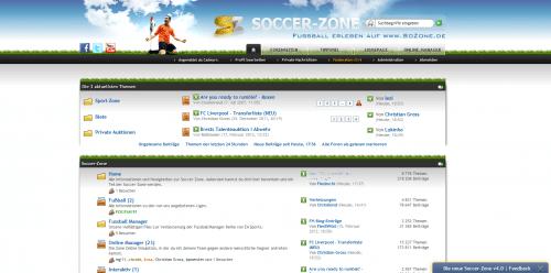 Soccer-Zone 4.0 Forum