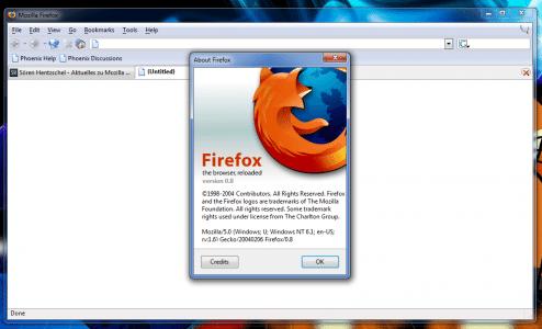 Firefox 0.8
