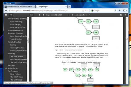 Firefox 15 PDF Viewer
