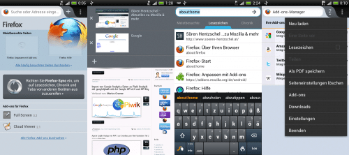 Firefox Mobile 14