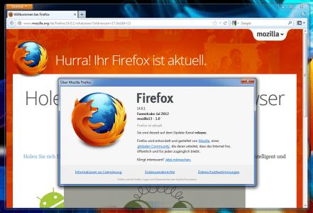 Firefox Funnelcake