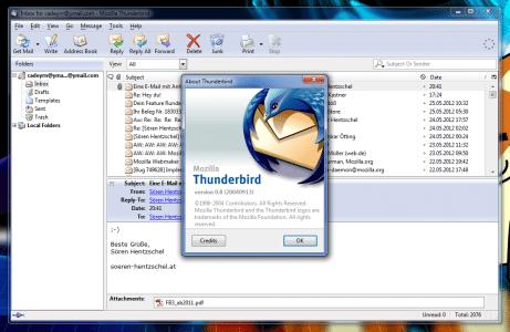 Thunderbird 0.8