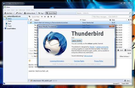 Thunderbird 13.0