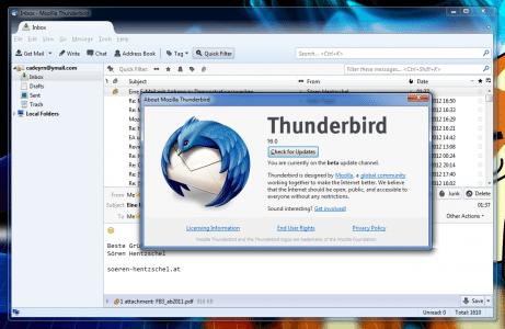 Thunderbird 16.0