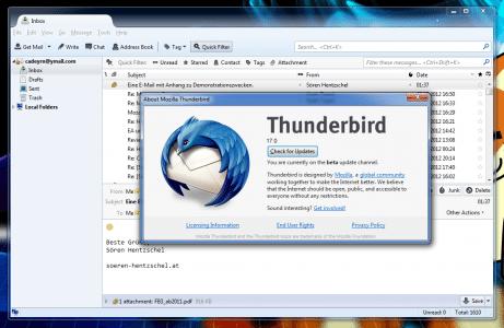 Thunderbird 17.0