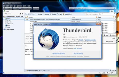 Thunderbird 5.0