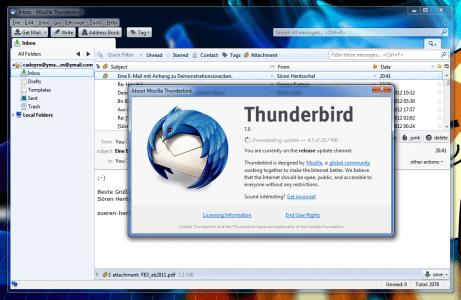 Thunderbird 7.0