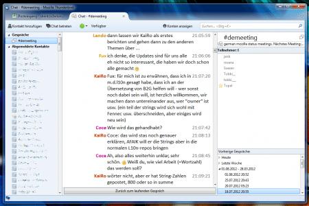 Thunderbird IRC