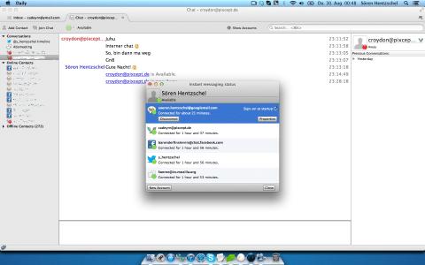 Thunderbird Instant Messaging Accounts