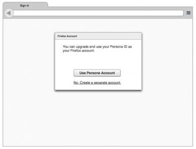 Firefox Account anmelden als