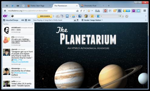 Firefox Add-ons Toolbars und Sidebar