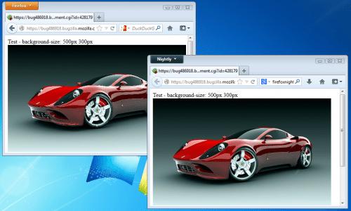 Bild-Skalierung Firefox 18