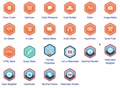 Webmaker Badges
