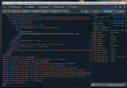 Entwickler-Werkzeuge Dunkles Theme