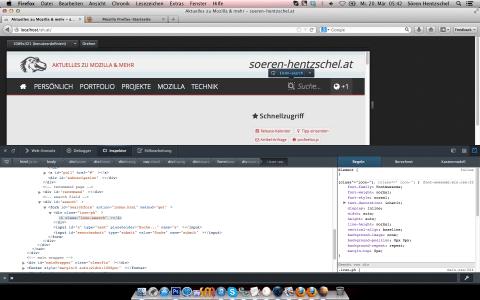 Entwickler-Werkzeuge Firefox 20