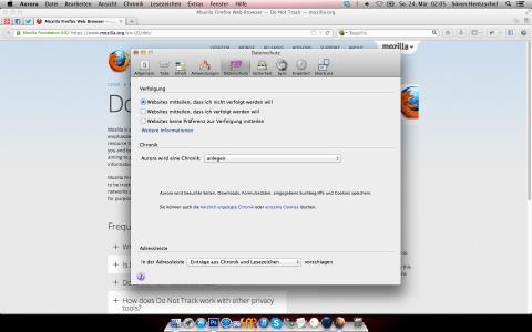 Firefox 21 Do-not-Track