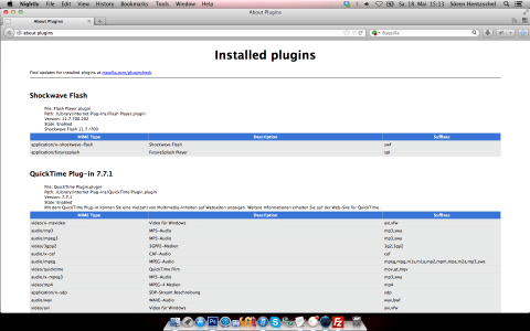 about:plugins