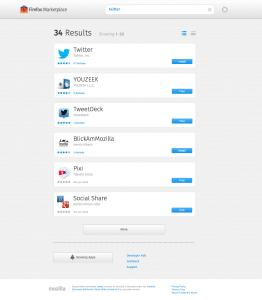 Firefox Marketplace 2013