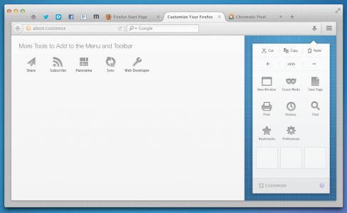 Australis Anpassen Mac OS X