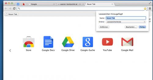 Australis Chrome Vergleich: Lesezeichen Chrome