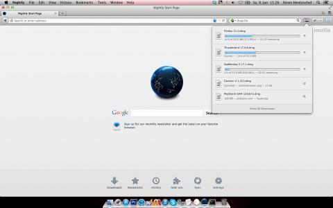 Firefox Add-on: Download Panel Tweaks