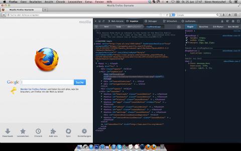 Firefox 22 Entwickler-Werkzeuge