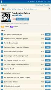 7digital Music Store Firefox OS