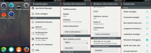 Firefox OS Remote Debugging