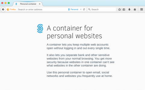 Firefox Container