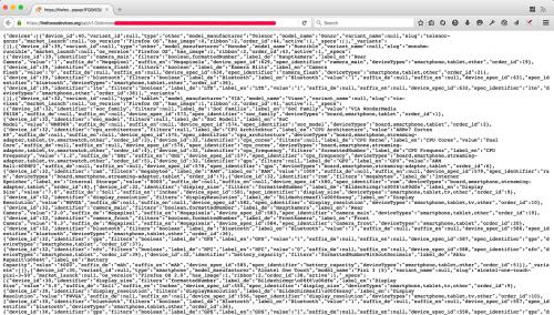 Firefox ohne JSON-Betrachter