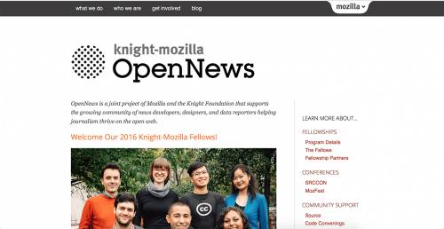 Knight-Mozilla OpenNews