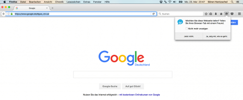 Firefox Hello 1.3