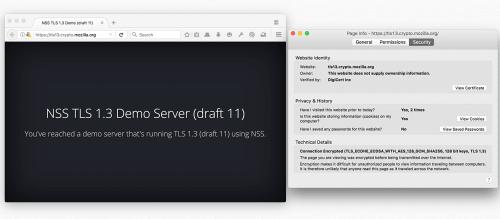 Firefox 49 TLS 1.3