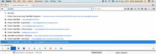 Firefox 51: Suchmaschinen-Symbole in Adressleiste