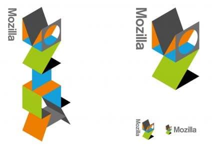 Mozilla Logo-Entwurf: Flik Flak