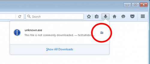 Firefox 48: Ungewöhnliche Downloads