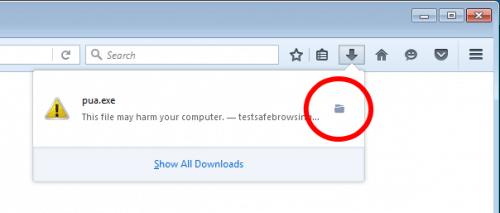 Firefox 48: Potentiell unerwünschte Downloads