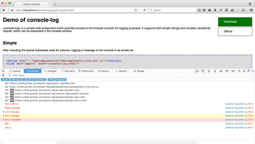 HTML Web-Konsole