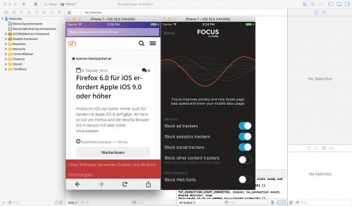 Mozilla Klar by Firefox Browser