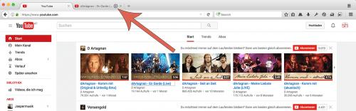 Firefox: kein Autoplay von Videos in Hintergrund-Tabs