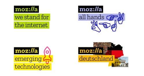 Mozilla-Logo Design-Sprache