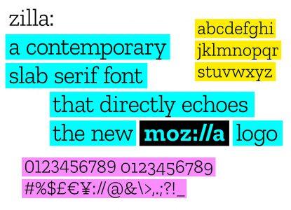 Zilla Font