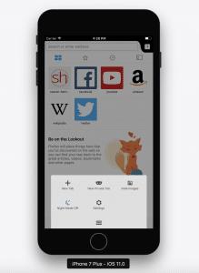 Firefox 8.0 für Apple iOS