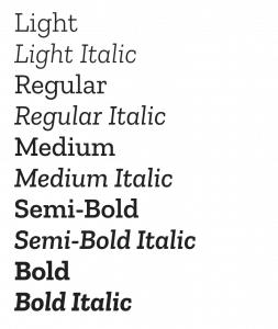 Zilla Slab Font
