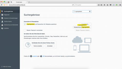 Firefox 55 Einstellungen Suche