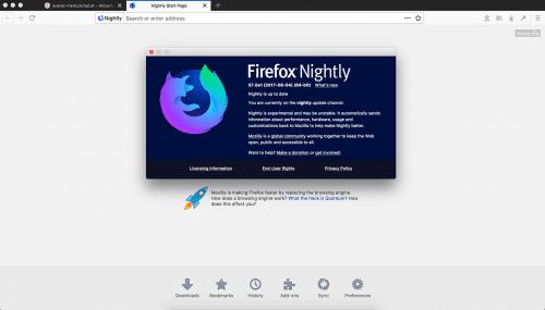 Firefox Nightly 57 Logo